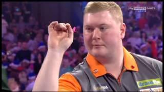 2016 World Darts Championship Round 1 Whitlock vs Evans