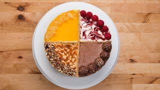 4 Flavor Cheesecake