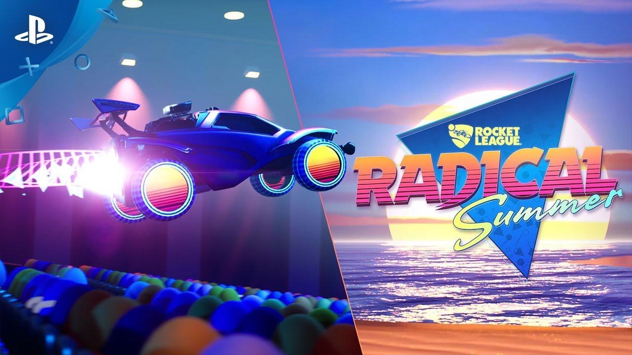 Rocket League fliegt für das Radical Summer-Event zurück in die Vergangenheit