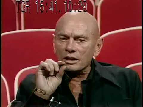 Yul Brynner - 1981 interview - The King and I