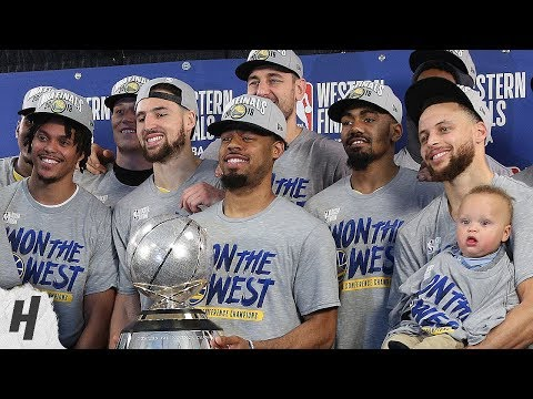 Golden State Warriors Trophy Presentation Ceremony - 2019 Western Conference Finals Champions