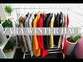ZARA & UNIQLO Winter Try On Haul 2017