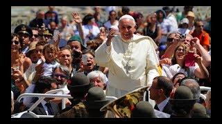 La telefonata di papa Francesco al Pellegrinaggio 2018 (4:50)