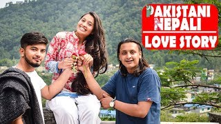 Pakistani nepali love story|Nepali Sad Short Film|Ft.Amna Khan| SNS Entertainment