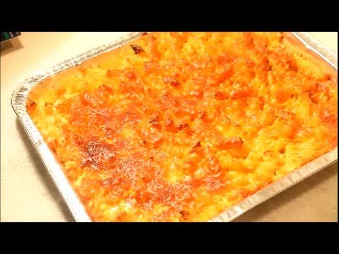 HOW TO MAKE - Macaroni and Cheese Recipe  Jamaican style- Baked