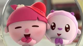Малышарики - 7 серия - Красная шапочка - обучающие мультфильмы для малышей 0-4