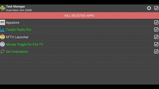 Fire TV Stick How to Kill background Tasks with 1 Click to free up memory