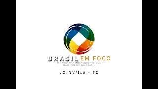 Grupo TGA fala ao programa Brasil em Foco da Record News TV durante a Logistique 2018, em Joinville