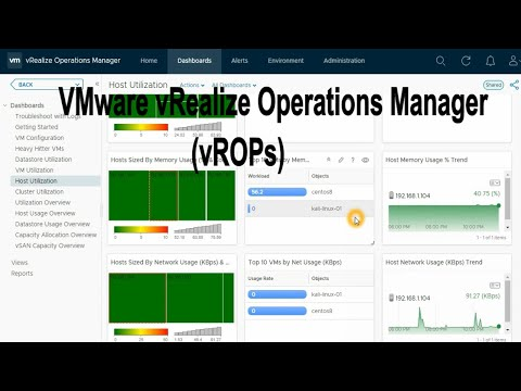 Introduction to VMware vROPS vRealize Operations Manager ...