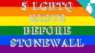 5 LGBTQ Riots Before Stonewall