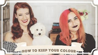 How To Keep Coloured Hair Perfect // L'Oreal & goodDyeYoung [CC]