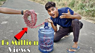 20 Litre Water Cane vs 2000 Bijali Experiment || Water Cane survive Or Not || Diwali Special