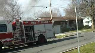 preview picture of video 'House Fire in Cornwall Ontario'