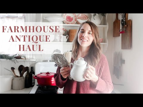 Farmhouse Antique Shopping | All My LATEST Finds!
