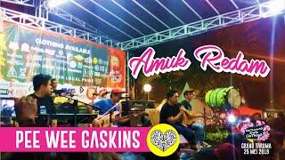Pee Wee Gaskins   Amuk Redam Live Acoustic @ Karawang Indie Clothing 2019