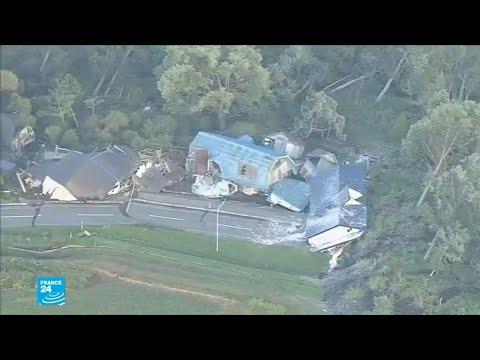 العرب اليوم - شاهد: زلزال عنيف يضرب اليابان بعد الإعصار