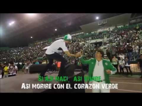 """""""Corazón AlbiVerde"""" Barra: Los de Siempre • Club: Oriente Petrolero • País: Bolívia"""