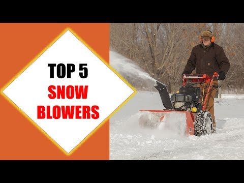 Top 5 Best Snow Blowers 2018   Best Snow Blower Review By Jumpy Express