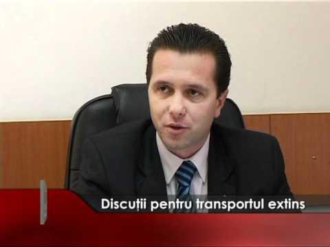 Discutii pentru transportul extins