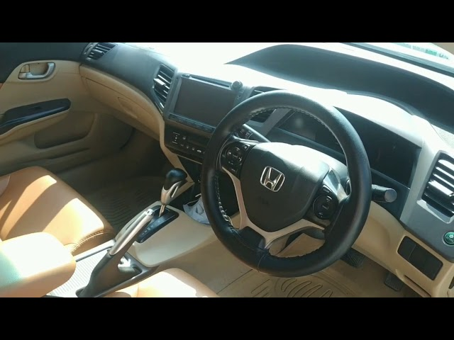 Honda Civic VTi Oriel Prosmatec 1.8 i-VTEC 2013 Video