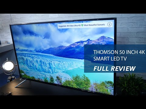 Thomson 50 inch 4K Smart LED TV – Review, Specs and Price