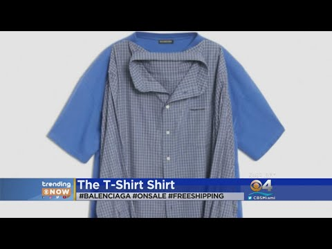 417c465adf68 Trending: Would you buy this $1300 shirt?