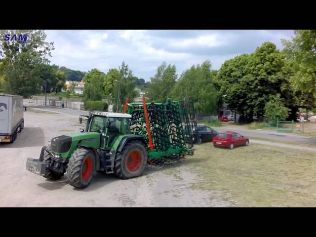 Agregat SAMPOL-BIS Dzierzgoń 8.3 m бороны, harrows, eggen