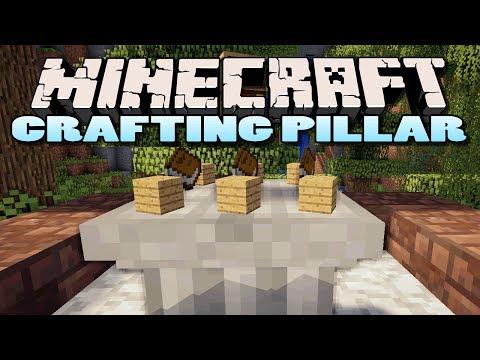 Minecraft: Crafting Pillar Mod | Epic New Way of Crafting!