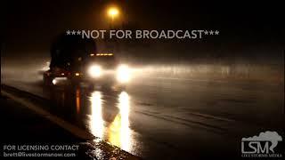 3-11-18 Bowling Green, Kentucky 11PM Snowfall On I-65