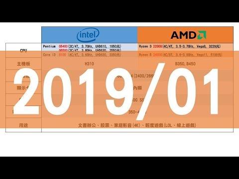 2019電腦配單