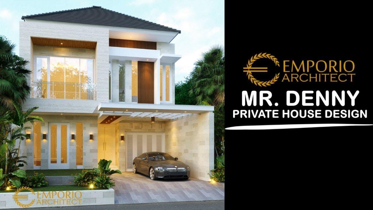 Video 3D Desain Rumah Modern 2 Lantai Bapak Denny di Jakarta