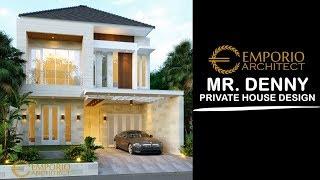Video Desain Rumah Modern 2 Lantai Bapak Denny di  Jakarta