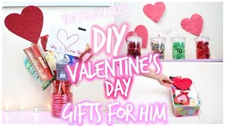 DIY Valentines Day Gifts For HIM!