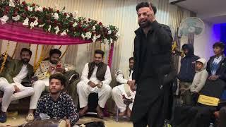 KHURAM JUTT DESI TAPPY AT FAISAL GONDAL WEDDING SIALKOT