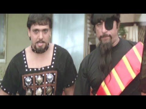 Govinda & Shakti Kapoor fools Karisma Kapoor - Hindi Comedy Scene 2 | Raja Babu