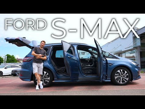 New Ford S-MAX ST-Line 2021 Review Interior Exterior