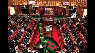 Kenyan MPs in a meeting to discuss illegal Kshs. 250,000 house allowance