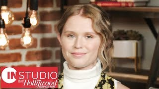 'Sharp Objects' Star Eliza Scanlen Talks First Major Role, Amy Adams, & More! | In Studio With THR