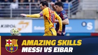 Messi's electric moves at Eibar