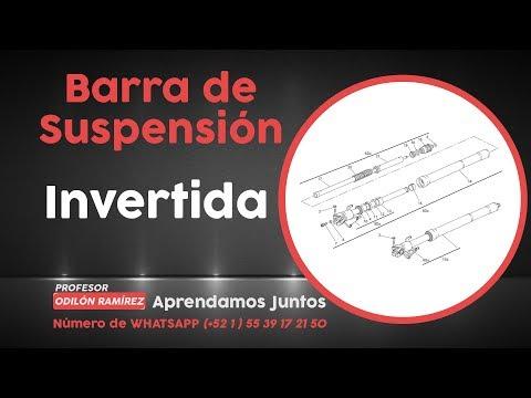 Barra telescopica invertida /  DESARMADO