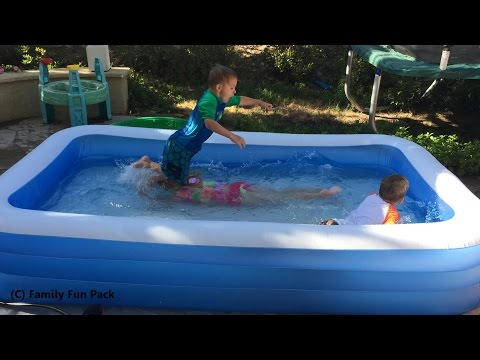 Intex Swim Center Family Inflatable Kiddie Pool Review