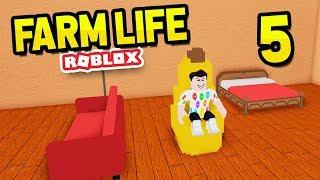 CUSTOMISING MY HOUSE - Roblox Farm Life #5