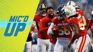 Best Mic'd Up Sounds of Pro Bowl, 2018 | Sound FX | NFL Films
