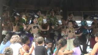 Cook Island Dance At The Saturday Market In Avarua 3