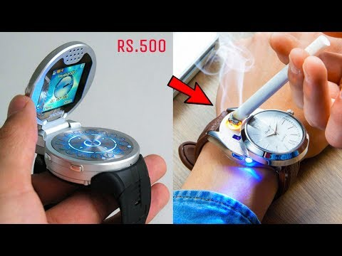 5 AMAZING TECHNOLOGY GADGETS ▶ UNIQUE WATCHES You Can Buy in Online Stores