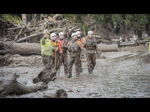ΗΠΑ: Πάνω από 15 νεκροί από την κατολίσθηση λάσπης στην Καλιφόρνια (βίντεο)