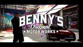 BENNYS MOD SHOP/3 LOWRIDER SHOWCASE
