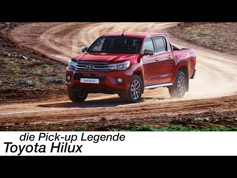 Jetzt bin ich Pick-Up-Fan: Toyota Hilux Executive 2,4-l-D-4D (150PS) Test [4K] - Autophorie