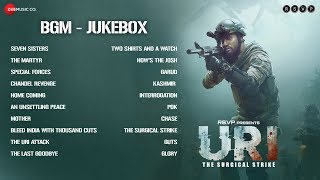 URI - The Surgical Strike | BGM Jukebox | Shashwat Sachdev | Vicky Kaushal  Yami Gautam