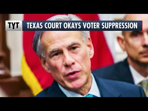 Everything's Bigger In Texas...EXCEPT Voting Rights